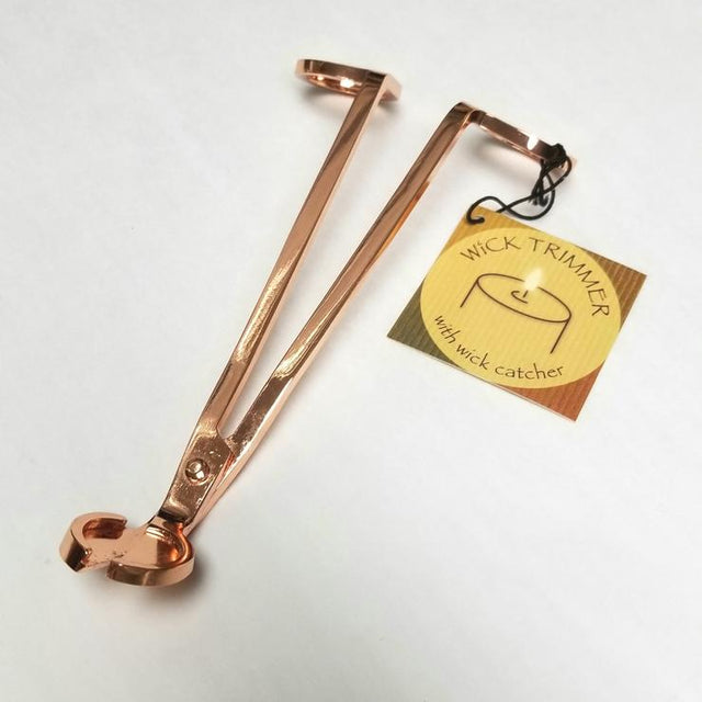 Rose Gold Wickman Wick Trimmer Abboo Candle Co candle accessories gift