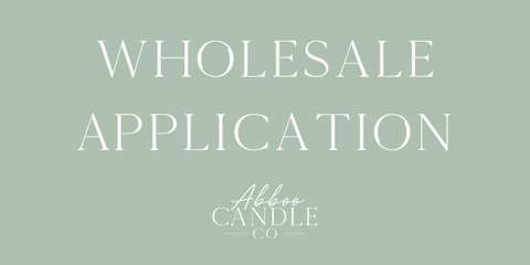 Abboo Candle Co Wholesale Application