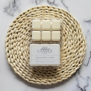 Applewood & Fern Soy Wax Melts by Abboo Candle Co|$3.99