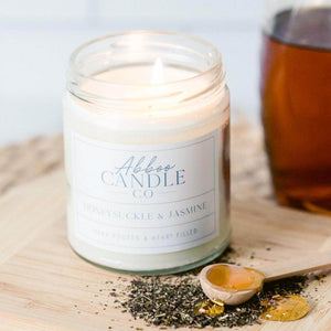 Honeysuckle and Jasmine Soy Candle