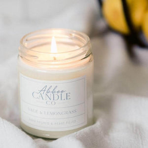 Sage and Lemongrass Soy Candle