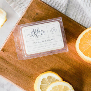 Sunshine & Grace Soy Wax Melts by Abboo Candle Co|$6.49