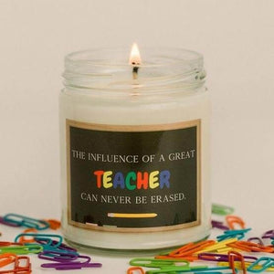 Teacher Appreciation Soy Candle|Abboo Candle Co|15.00
