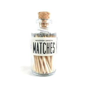 Apothecary Matchsticks Gray Tips sold by Abboo Candle Co|$14.99