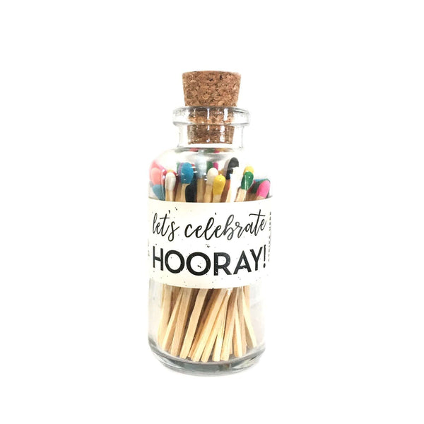 Apothecary Celebrate Matchsticks Rainbow Tips sold by Abboo Candle Co|$14.99