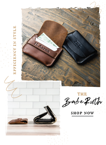 The Babe Ruth Front Pocket Wallet