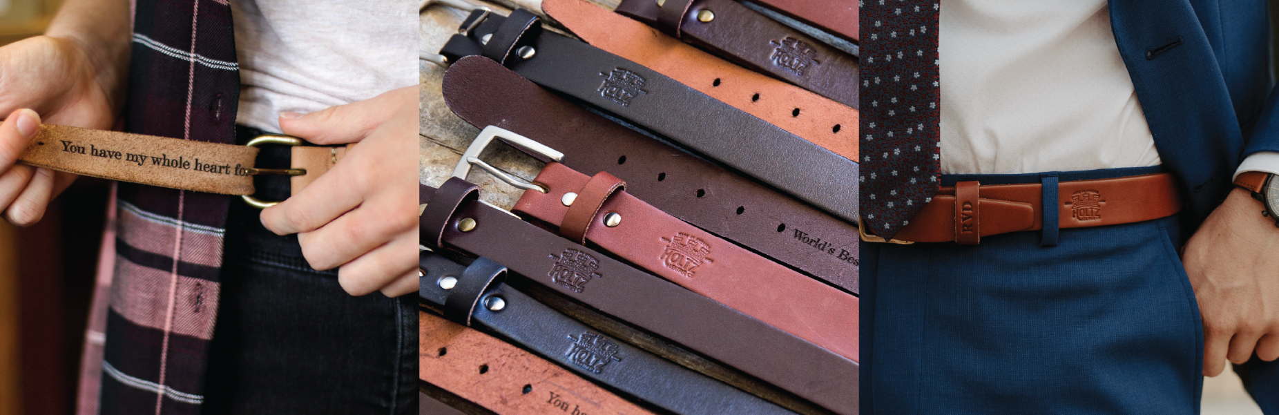 men's fine leather belts