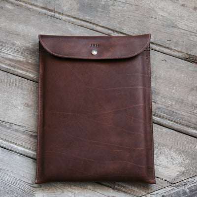 "Fine Leather Sleeve Case for Apple Macbook Pro 13"" & Macbook Air 13"""
