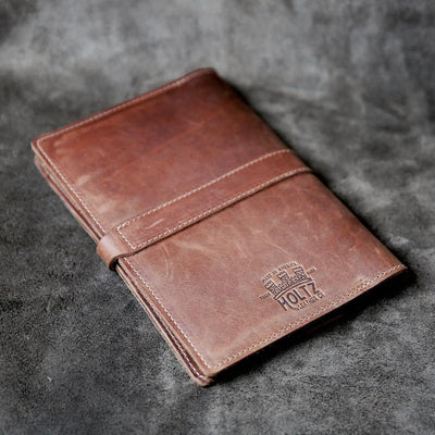 The Officially Licensed Auburn Inventor Personalized Fine Leather Journal