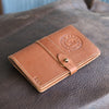 The Officially Licensed Crimson Tide Surveyor Fine Leather Pocket Journal Cover for Field Notes