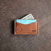 The Officially Licensed Crimson Tide Vernon Fine Leather Front Pocket Card Holder Wallet