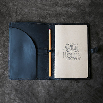 The Inventor Personalized Fine Leather A5 Moleskine Journal Diary
