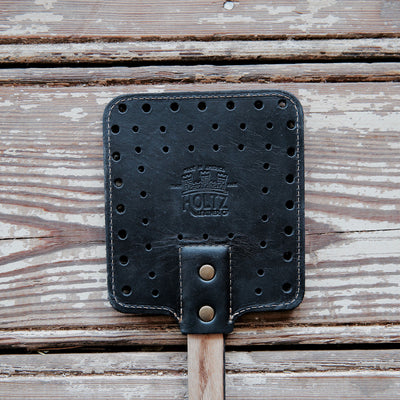 The Front Porch Tennessee Whiskey Barrel Handle & Leather Flyswatter