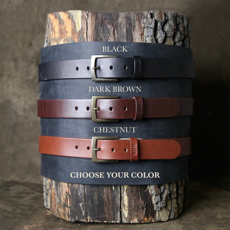 Leather Belts for Him and Her
