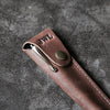 Hand-Turned Rose Wood Fountain Pen + Personalized Pen Sleeve