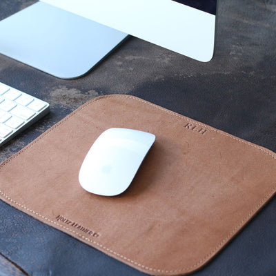 The Architect Personalized Fine Leather Mouse Pad Mousepad Office Accessories