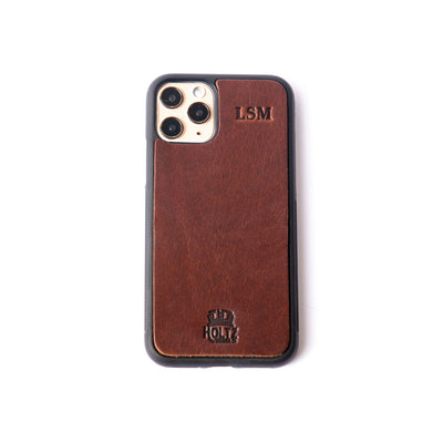 EDC Personalized Leather Phone Case for iPhone®