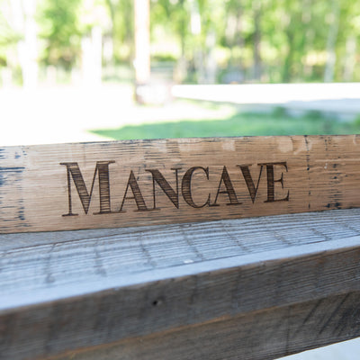 Personalized Family Name Sign From Tennessee Whiskey Barrel Stave - Wall Art