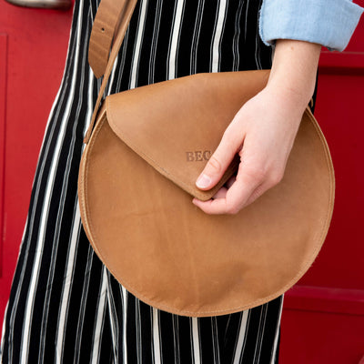 The Potter Fine Leather Crossbody Bag