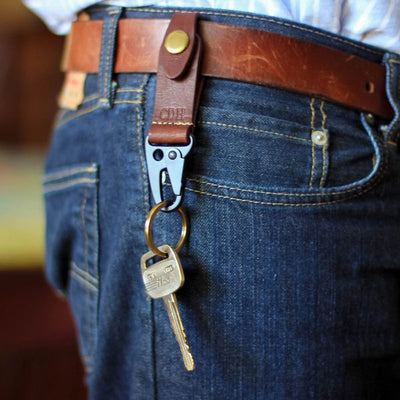 The Henry Fine Leather Keychain