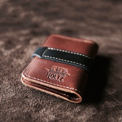 The Officially Licensed Marine Corps Doolittle Fine Leather Snap Closure Wallet BiFold