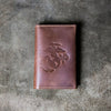 The Officially Licensed Marine Corps Pioneer Fine Leather Passport Wallet Passport Cover
