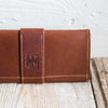 The Kelsey Fine Leather Pocketbook Wallet Large Checkbook Cover