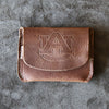 The Officially Licensed Auburn Fine Leather Front Pocket Wallet
