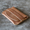 The Officially Licensed Crimson Tide Fine Leather Front Pocket Wallet