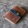 The Officially Licensed Crimson Tide Doolittle Fine Leather Snap Closure Wallet BiFold
