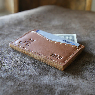 The Officially Licensed Alabama Vernon Fine Leather Front Pocket Card Holder Wallet