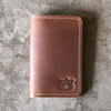 The Officially Licensed Auburn Vincent Fine Leather Business Card Holder Wallet BiFold