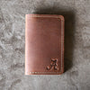 The Officially Licensed Alabama Vincent Fine Leather Business Card Holder Wallet BiFold