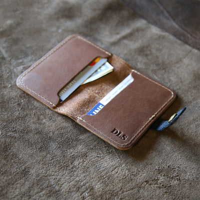 The Officially Licensed Alabama Doolittle Fine Leather Snap Closure Wallet BiFold