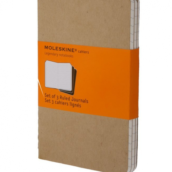 Set of 3 Inventor Journal Refill – A5 Moleskine