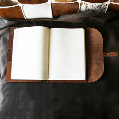 The Artisan Personalized Fine Leather A4 Moleskine Journal, Diary, Hard Cover Notebook, Sketchbook