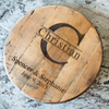 Personalized Tennessee Whiskey Barrel Head Wood Sign - Rustic Home Decor