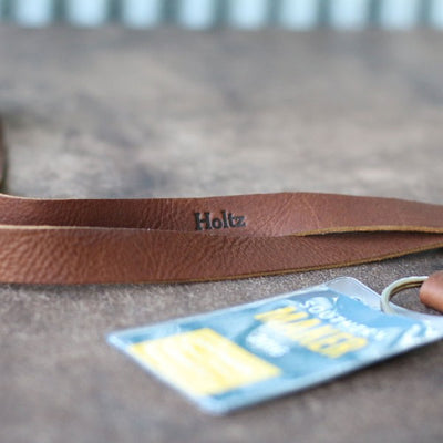 Personalized Leather Lanyard Badge Holder The Engineer