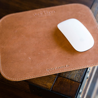 The Architect Custom Logo Fine Leather Mouse Pad Mousepad Office Accessories Put Your Logo On It Corporate