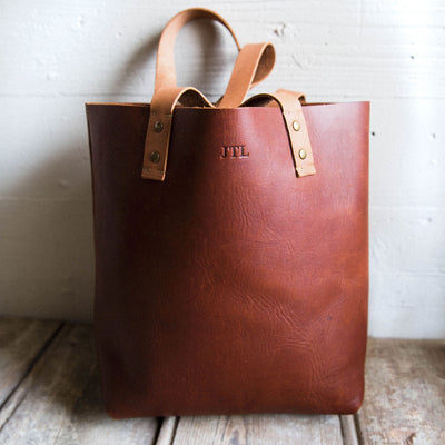 The Ashley Tote Fine Leather Handbag Purse Bag
