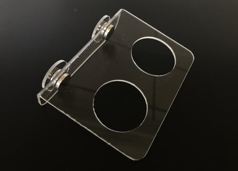 Magentic Acrylic Feeding Ledge - Small Cups