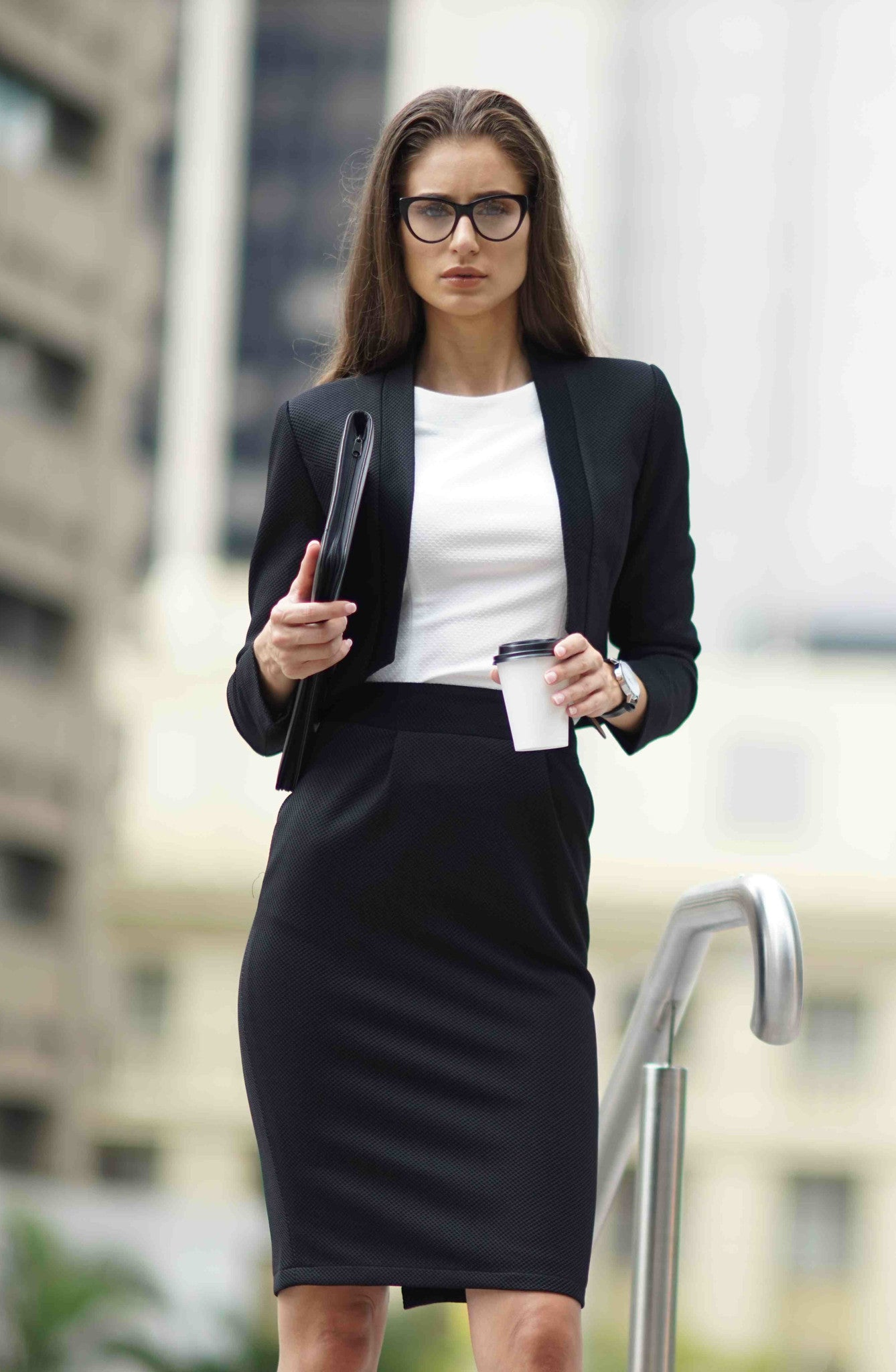 Above and Beyond Skirt Suit
