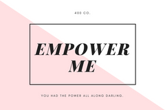 Empower Me Gift Card