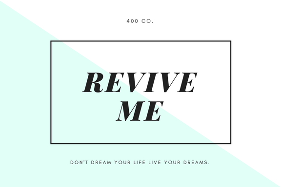 Revive Me Gift Card
