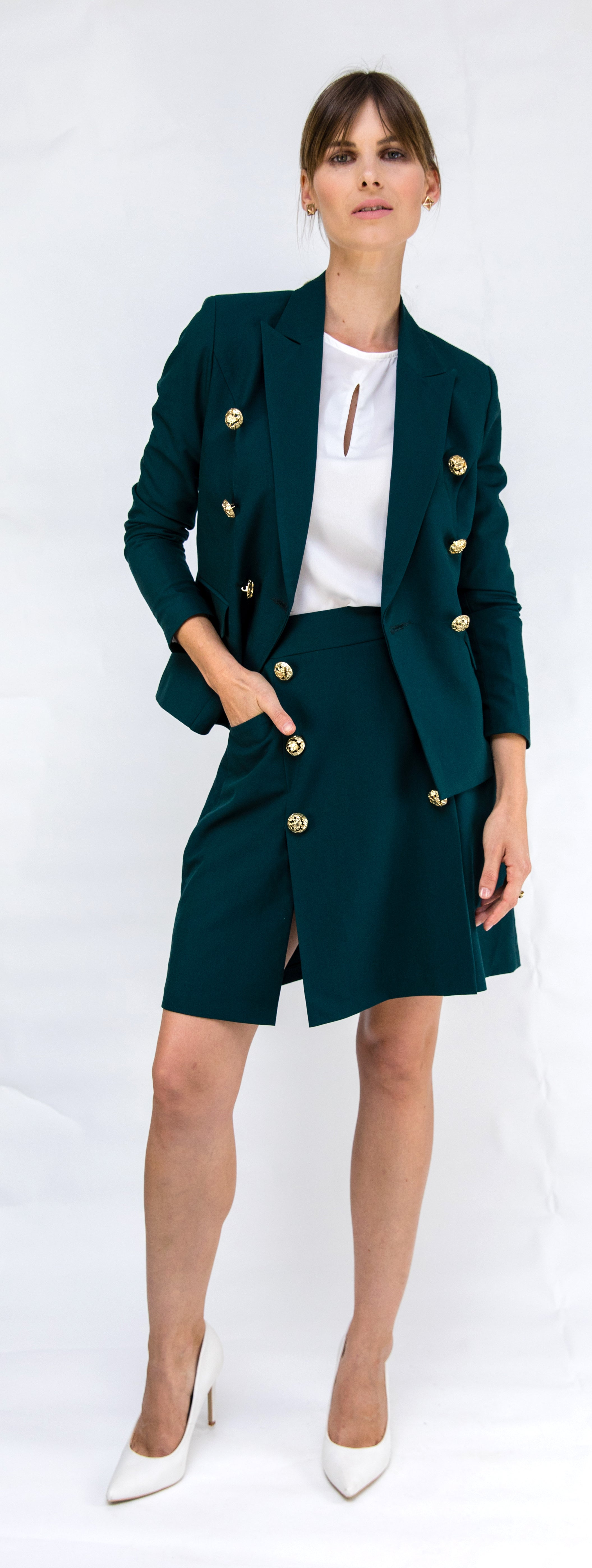Emerald Battalion Skirt