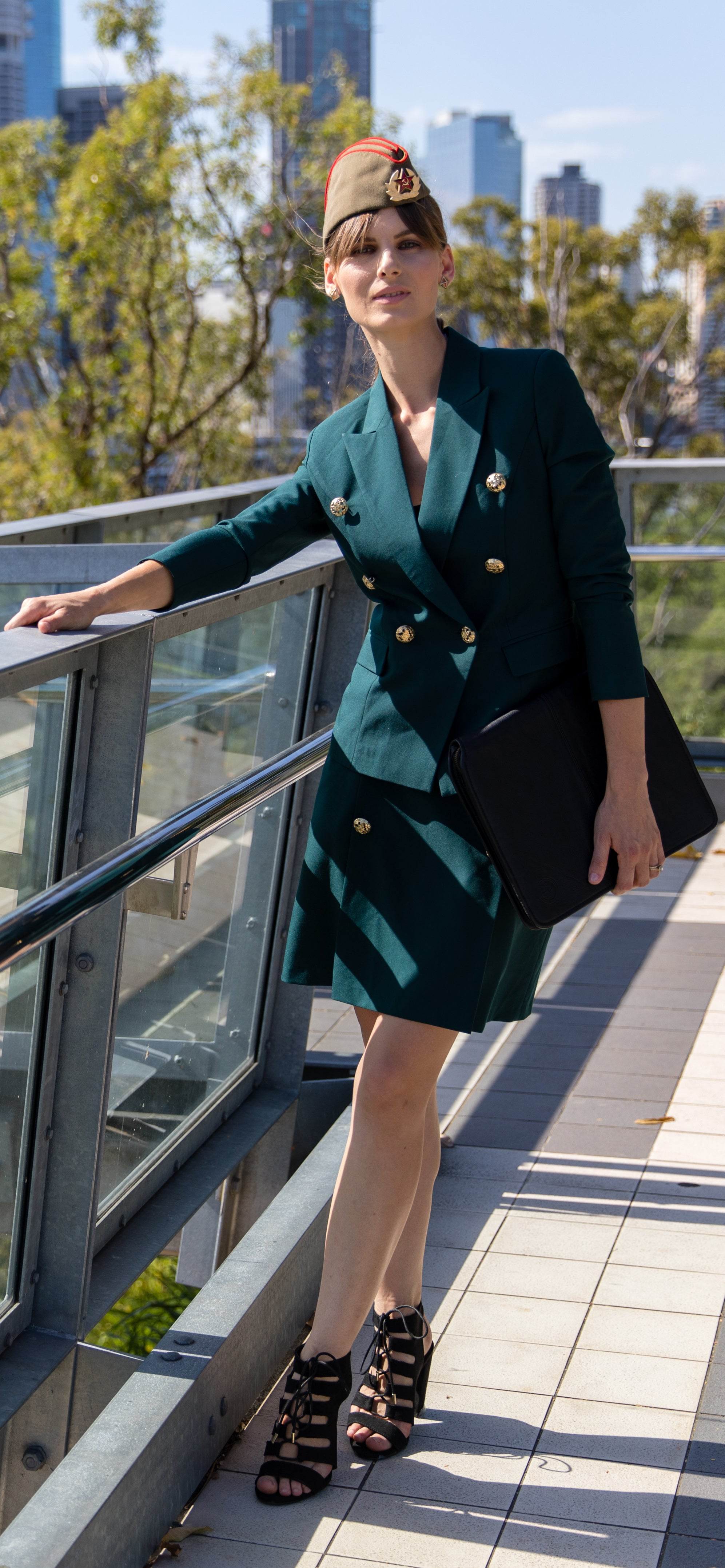 The Emerald Battalion Skirt Suit