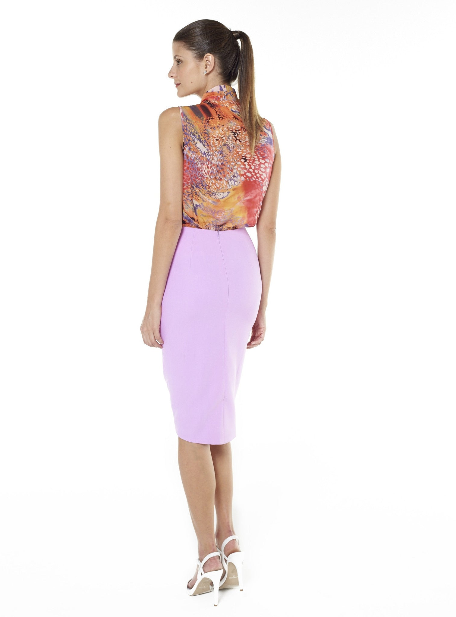 Bokashi Pencil Skirt