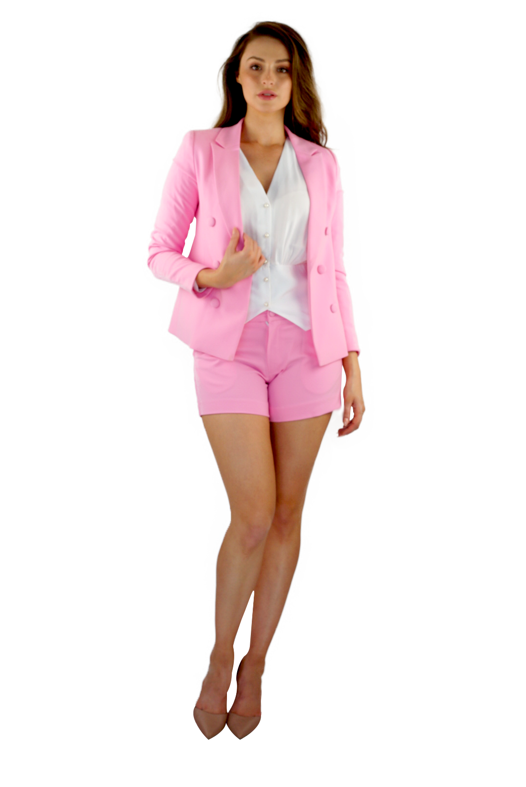 Paint the Town Pink Suit