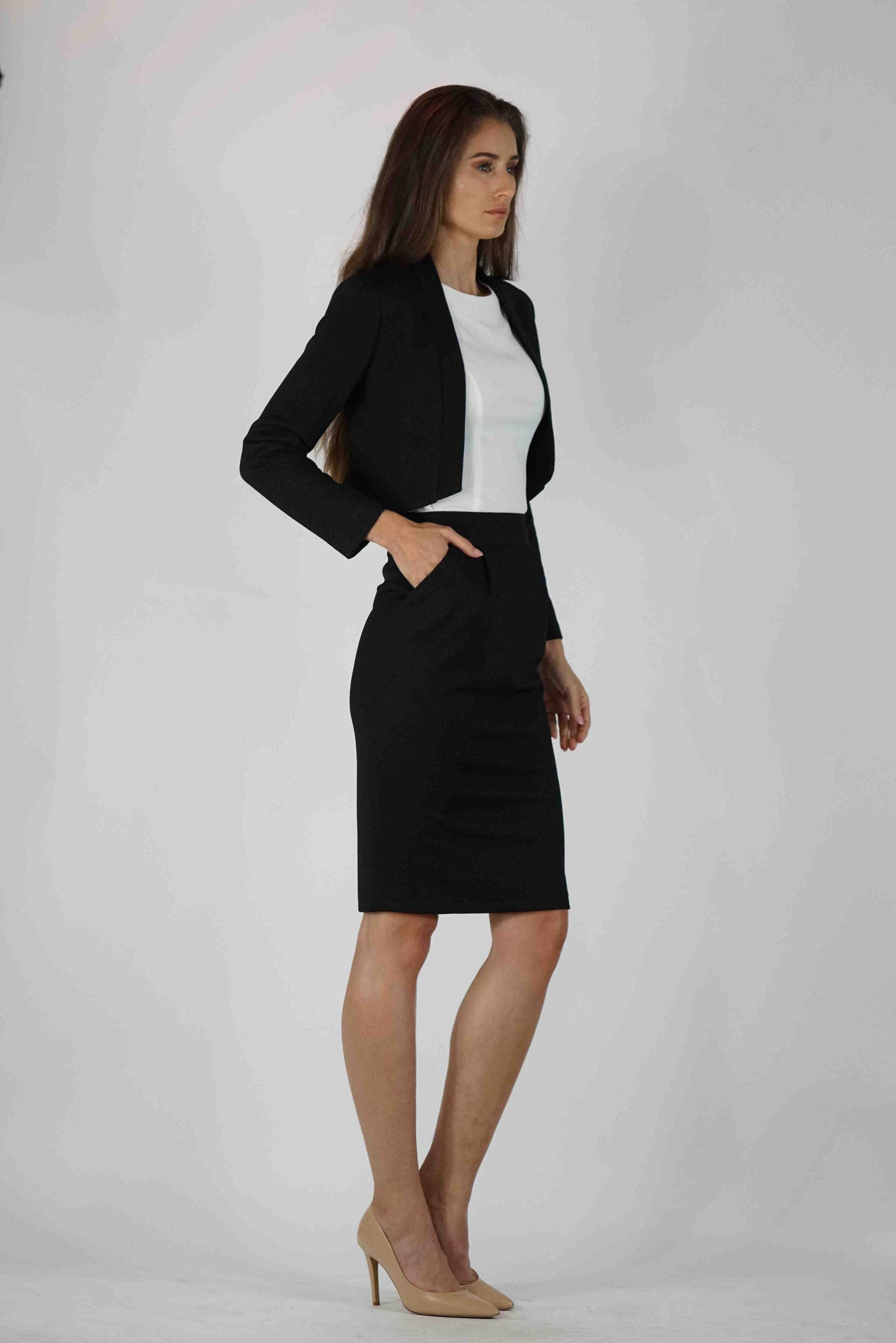 Above and Beyond Pencil Skirt
