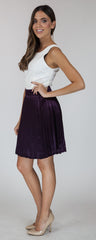 Bellissimo Pleat Skirt